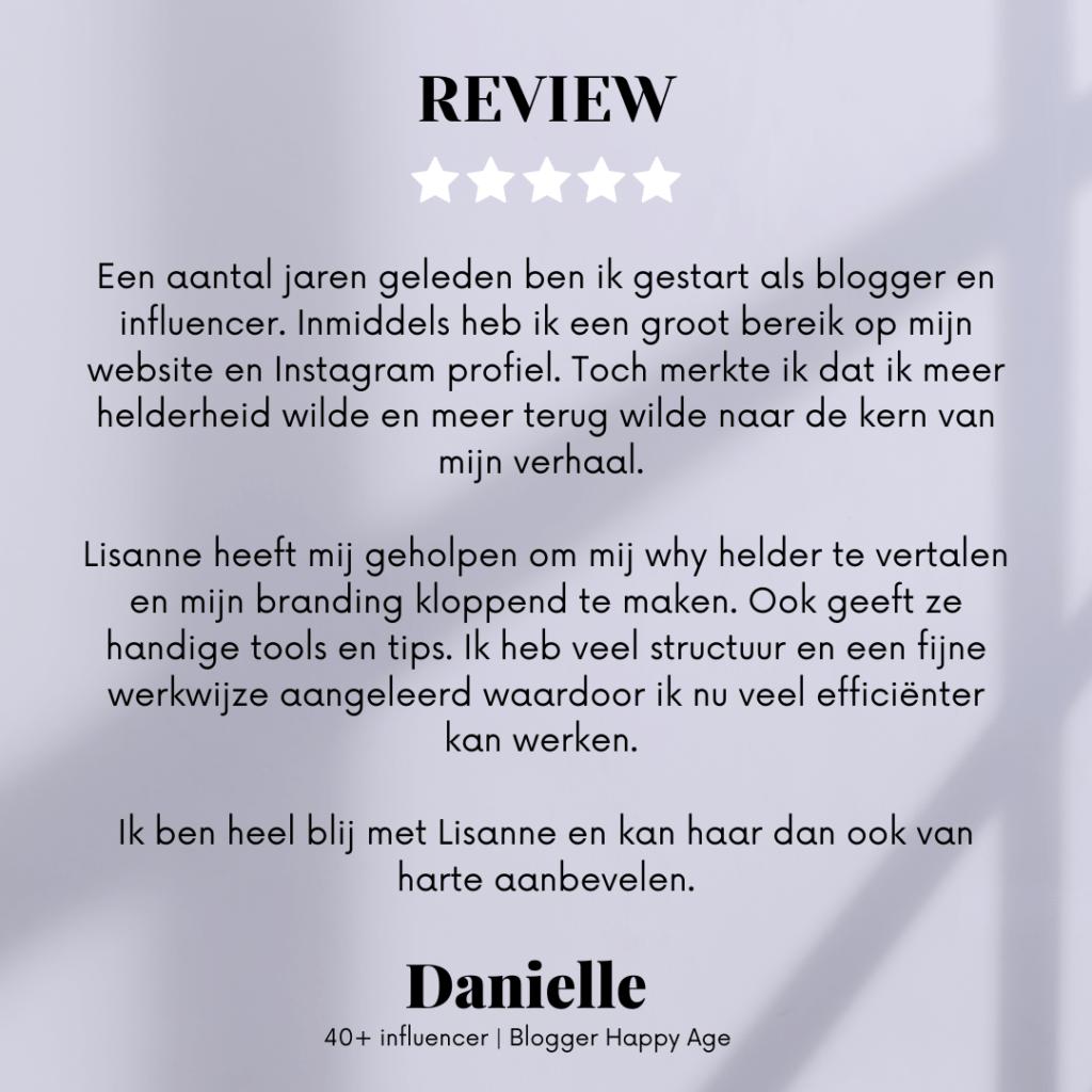 Review danielle